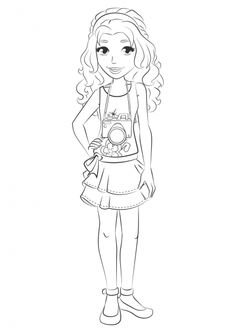 9 coloring pages of lego elves on kids n on kids n fun you will always find the best - Coloriage de lego friends ...