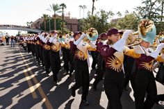 "Sun Devil Marching Band presents annual ""Pass In Review"" concert"