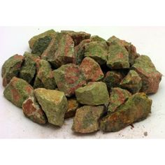 Tumbling Unakite, these smaller pieces are offered in 100 gram bags and are in stock in the UK