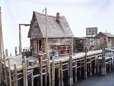 Fishing shack.
