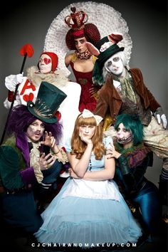 Scary, Special Effects Makeup for Halloween Party! Looking for Professional Hair and Makeup Artist in UK? Enquire now! Halloween Snacks, Halloween Party, Halloween Costumes, Halloween Stuff, Halloween Ideas, Boy Costumes, Costume Ideas, Alice In Wonderland Tea Party, Mad Hatter Tea