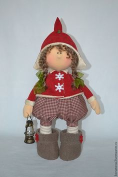 Collectible dolls handmade.  Fair Masters - handmade Christmas gnome.  Handmade.