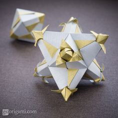 60 Origami Modular by Maria Sinayskaya