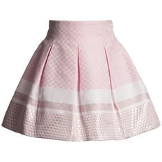 Pink Pleated Jacquard Skirt - Special Occasion - Girl | Childrensalon