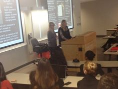 Andie & Amanda met with the program leaders and 60 students at Ryerson University in Toronto! Everyone was so excited to meet with them - The students asked great questions and were interested in our Summer Internship program.