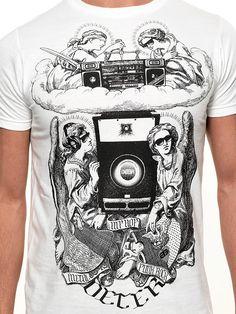 Deter Clothing Angels of Radness Mens T-shirt | fabnob