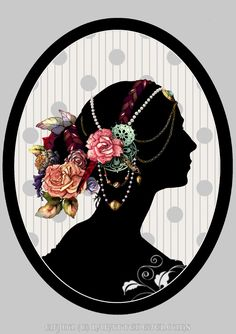 Victorian Lady Silhouette Clip Art | Displaying 18> Images For - Victorian Lady Silhouette...