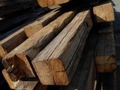 Poutre bois antique