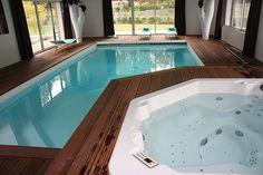 Piscine intérieure et spa - Hydro Sud Rennes (35)