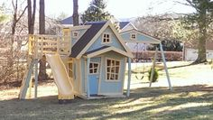 Big Whimsical Playset with Big Playhouse von ImagineThatPlayhouse, $5275.00