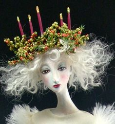 St Lucia   OOAK Art doll by cmoyer on Etsy, $450.00