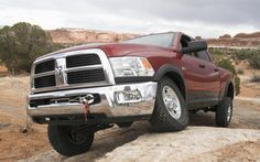 Dodge Ram 2500 = The most-recent-generation Ram had an even more muscular body and engine lineup, plus a versatile selection of cab style