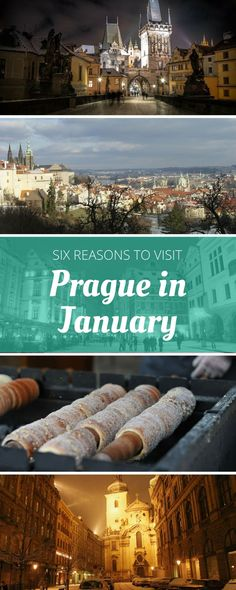 At first glance, the idea of visiting Prague in January sounds like a horrible idea. Considering it anyway? Here are six reasons to book your trip!