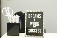 Adding Glam to your Workspace-One Desk, Three Ways.