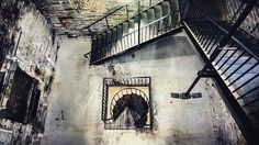 From @tee2thebone - I love stairs...another shot From the Dingle Tower ✖✖✖ #dingletower #Halifax #discoverhalifax #stairs #staircase…