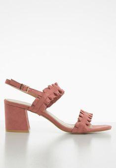 Slingback frill block heels pale pink STYLE REPUBLIC Heels | Superbalist.com Pink Style, Pink Heels, Pink Fashion, Pale Pink, No Frills, Block Heels, Open Toe, Two By Two, Footwear