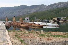 abandoned submarine