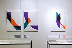 Sérigraphies de Gottfried Honegger dans le cadre de l'exposition Atelier Fanal à l'Espace CHUV, 2007