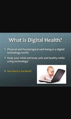 Technology World, Digital Technology, What Is Health, What Is Digital, Digital Citizenship, Health And Wellbeing, Physics, Psychology, Healthy