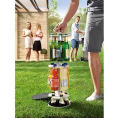 Easy Maxx Flaschenkühler Outdoor (Ø x H: 22 cm x 90 cm, Geeignet für: Bis zu 15 Flaschen)