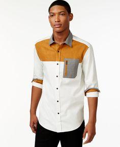 Sean John Colorblocked Shirt