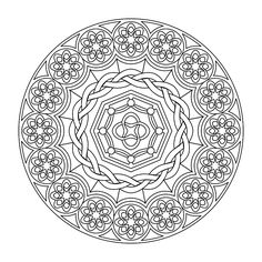 Printable Mandalas (the boys love to color these)
