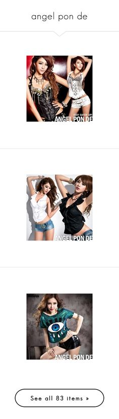 """angel pon de"" by ardit38 ❤ liked on Polyvore"