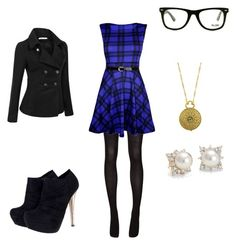 """""""Untitled #214"""" by mrs-grant-guston ❤ liked on Polyvore featuring Doublju, 1928, Sofie D'hoore, GlassesUSA and Blue Nile"""