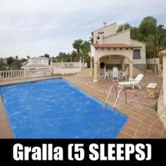 Gralla (5 SLEEPS) Costa Blanca - Moraira