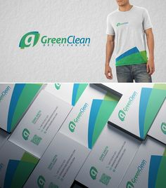 Create a catchy but elegant logo for a Green Dry Cleaners by Mihai Frankfurt