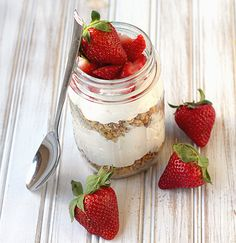 OMG Cheesecake in a mason jar!  I can die now.