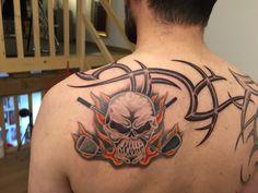 Another wild Tattoo Golf tattoo!  See more at tattoogolf.com.  #tattoos, #golftattoos