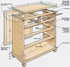Preview - A Small Bureau Built to Last - Fine Woodworking Article