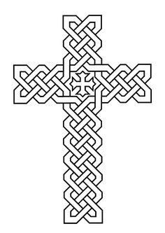 Morphed Celtic Cross Coloring Pages | Best Place to Color