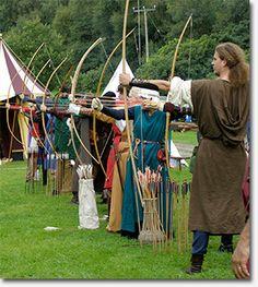 Medieval Archery event, Dahlia Show in Golden Gate Park – August 17 & 18 #archery #park