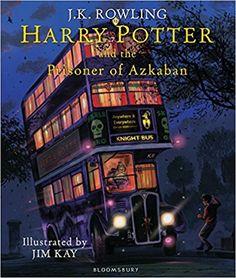 Harry Potter and the Prisoner of Azkaban: Illustrated Edition: J.K. Rowling, Jim Kay: 9781408845660: Books - Amazon.ca