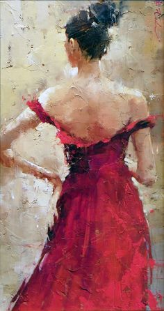 *The Bridesmaid* ~ Andre Kohn this could meg on the day of the wedding