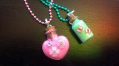 """'CUTE Glow in the dark 1"""" glass pendants' is going up for auction at  8am Thu, Jul 26 with a starting bid of $5."""