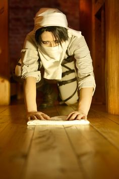 Shingeki No Kyojin: Levi (Because believe it or not, a show about killer giants can also promote house cleaning XD)