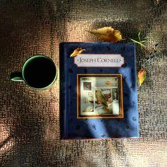 Morning Coffee & Cornell  #josephcornell #coffee #art #book