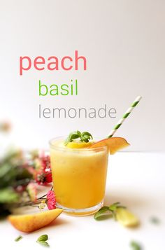 your craving peach basil lemonade peach basil more basil lemonade ...