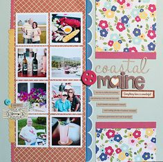 page by @Kelly Noel using out GLEE CLUB kit + add-ons
