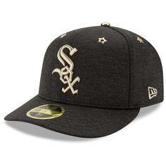 f194b1fbe Men s Chicago White Sox New Era Heathered Black 2017 MLB All-Star Game Side  Patch Low Profile 59FIFTY Fitted Hat