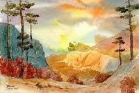 Картинки по запросу сосны небо свет