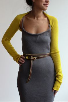 souchi zen cashmere shrug...and perfect for when you're a wee bit chilly and need a little somethin..