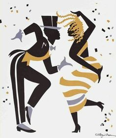 x Fox trot is a dance print All art personally signed by the artist by exclusive arrangement with Ty Wilson Wilson Art, Dancing Drawings, Illustration Noel, Art Africain, Spectrum Noir, Poster Prints, Art Prints, Dance Art, Latin Dance