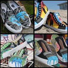 e4a473a1e555ec Vote in the 2011 Vans Custom Culture Custom Shoe Contest · Vans  CustomCustom ShoesVan ...