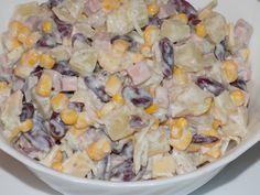 magiczna kuchnia Kasi: Sałatka z ananasem i czerwoną fasolą