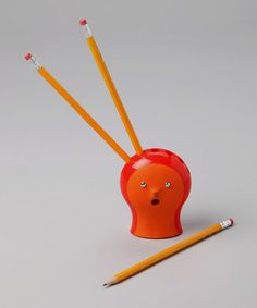 pencil holder. always keep it full and you'll know just by looking if a student is borrowing a pencil!