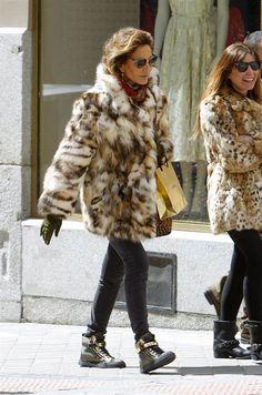 Very cool fur jacket